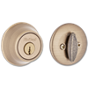 KWIKSET SMARTKEY SINGLE CYLINDER DEADBOLT - ANTIQUE BRASS