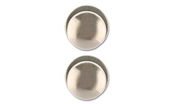 MAXWELL ROUND PASSAGE KNOB- SATIN NICKEL
