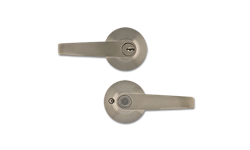 MAXWELL STRAIGHT ENTRY LEVER- SATIN NICKEL