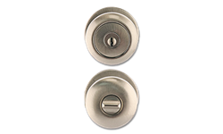 MAXWELL MUSHROOM ENTRY LOCK - SATIN NICKEL