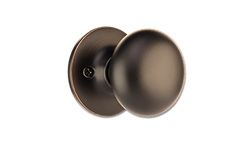 MAXWELL MUSHROOM DUMMY LOCK - OIL RUBBED BRONZE