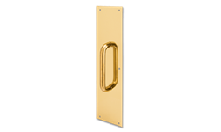"3-1/2"" X 15"" SOLID BRASS PULL PLATE"