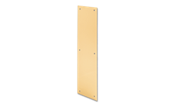"3-1/2"" X 15"" SOLID BRASS PUSH PLATE"