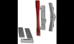 PATIO DOOR HANDLE AND LATCH SET - INCLUDES MOUNTING PLATE