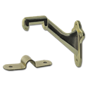 HAND RAIL BRACKET - POLISHED BRASS