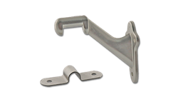 HAND RAIL BRACKET - SATIN NICKEL