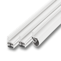 MAGNETIC WEATHERSTRIP FOR STEEL DOORS - WHITE