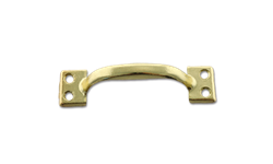 SASH LIFT WINDOW PULL - POLISHED BRASS