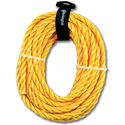 "3/8"" X 50' SOLID BRAID POLY DERBY ROPE"