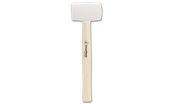 WHITE HEAD RUBBER MALLET - 16 OZ. HEAD
