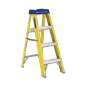 LOUISVILLE COMMERCIAL 4' FIBERGLASS LADDER