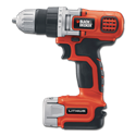 BLACK & DECKER 12V DRILL KIT WITH CHARGER