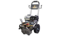 STAINLESS STEEL PRESSURE WASHER 6.5HP- 2500 PSI