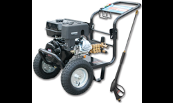 MARKSMAN 4000 PSI PRESSURE WASHER WITH 50' DUAL-LAYER WIRE BRAIDED HOSE