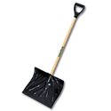 "SNOW SHOVEL / PUSHER POLY COMBO, 50-1/2"" HANDLE"