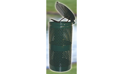 DOGIPOT TRASH RECEPTACLE- STEEL