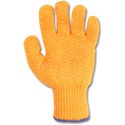 PVC COATED STRING KNIT GLOVES - LARGE
