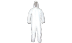 GEN-NEX PROTECTIVE HOODED COVERALLS - LARGE