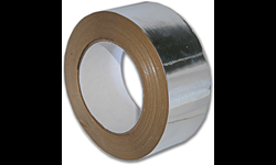 "ALUMINUM FOIL DUCT TAPE - 3"" X 50 YDS. - 3.5 MIL - UL LISTED"