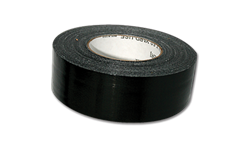 "BLACK DUCT TAPE CONTRACTOR GRADE 2"" X 60 YDS."