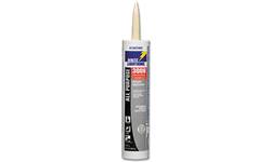 WHITE LIGHTNING 3006 SILICONIZED LATEX CAULK - ALMOND - 10 OZ.
