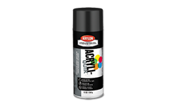 KRYLON GLOSS BLACK 5 BALL SPRAY PAINT - 12 OZ.