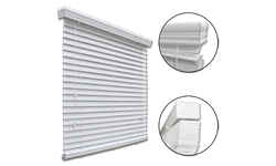 "PREMIUM 2"" FAUX WOOD BLIND 12X72 - WHITE"