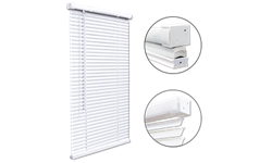 CORDLESS MINI BLIND 1.5 HEADRAIL - 23X36 - WHITE