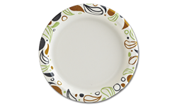 "9"" PRINTED PAPER PLATES - CASE OF 1000"
